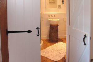 Doors to the Bathrooom