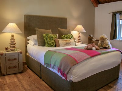The Bedroom in the Old Byre Self Catering