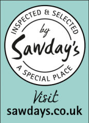 Sawdays badge - Inspected and Selected